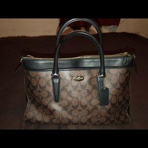Large satchel Coach